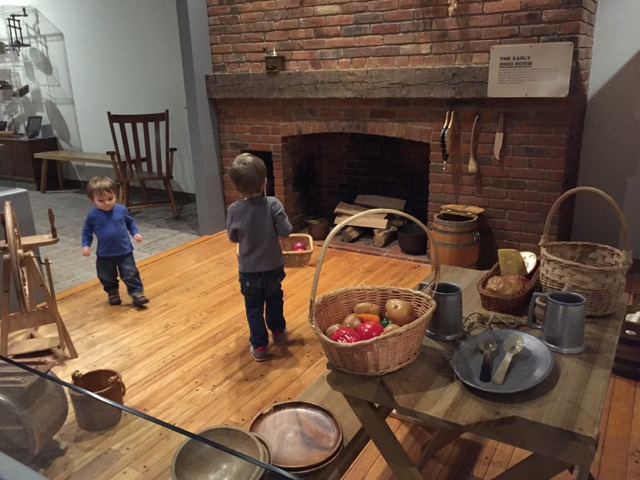 boys playing in the Early Ohio Area at Ohio History Connection