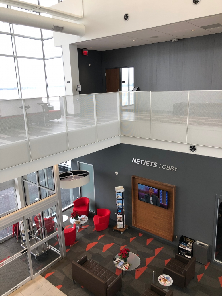 lobby at OSU airport