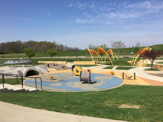 space themed park in Grove City, Ohio