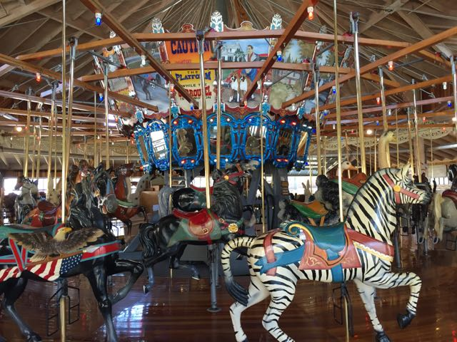 carousel in mansfield ohio