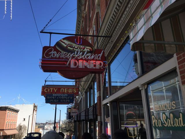 coney island diner, mansfield ohio