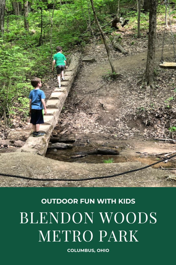 Exploring Blendon Woods Metro Park with Kids