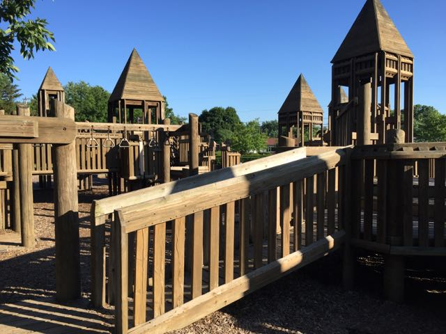 Playground at Wycliffe Elementary, Upper Arlington, Ohio