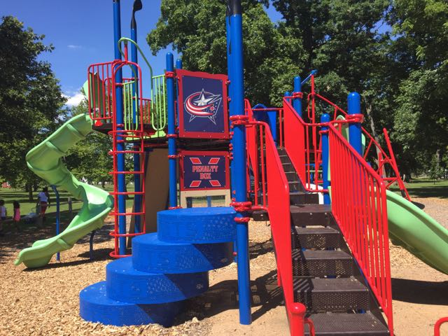 playground at Westgate Park, Columbus Ohio