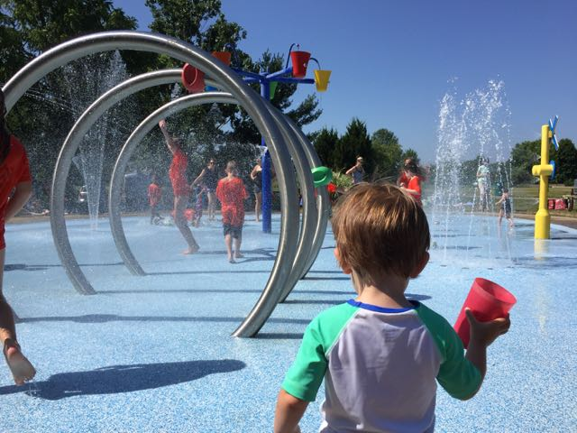 Splash Pad in Powell, Ohio