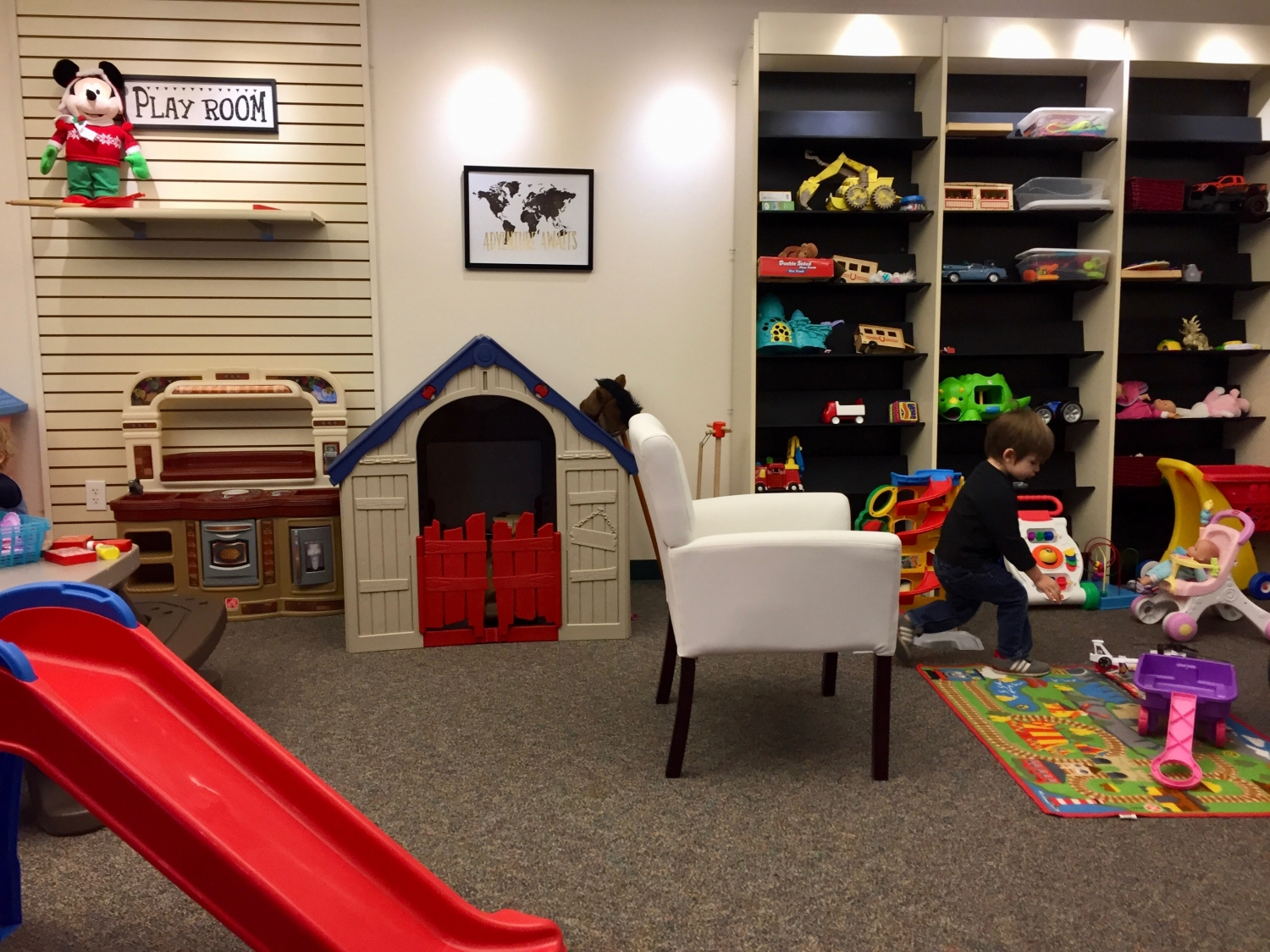 indoor play area at New Life Gahanna Church