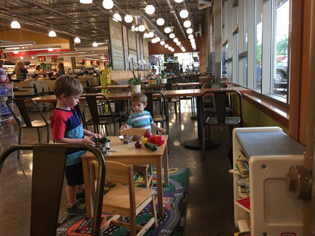 free indoor play area at whole foods upper arlington