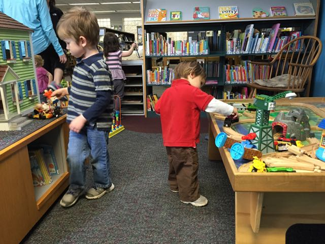 free indoor play at grandview public library