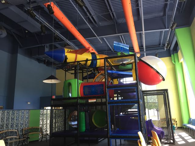 play area at Westerville Christian Church
