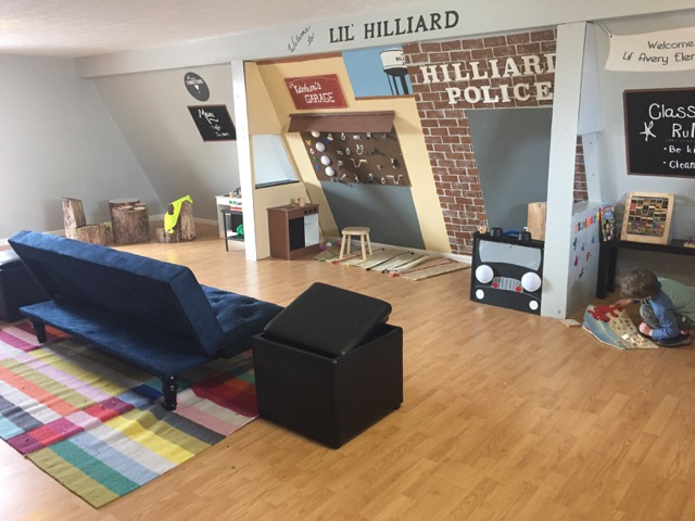 free indoor play area at Coffee Connections, hilliard Ohio
