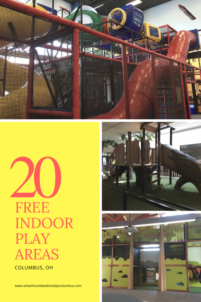 over 20 free indoor play areas in columbus, ohio