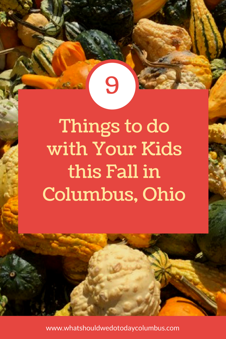 9 things to do with your kids this fall in Columbus, Ohio