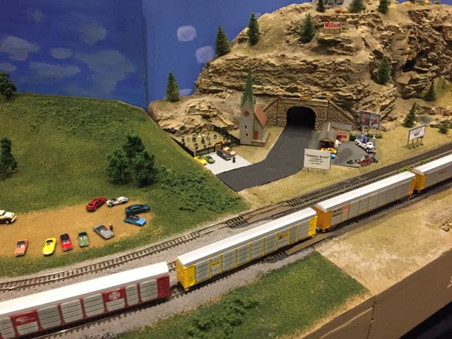model railroad days at COSI
