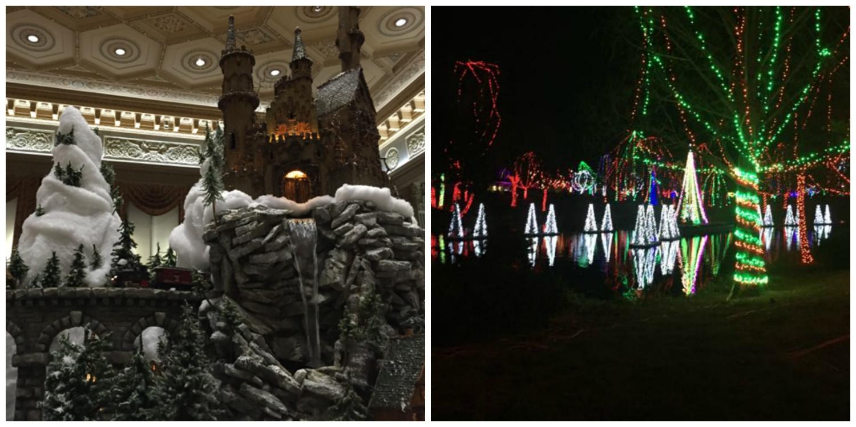 holiday train and Wildlights at Columbus Zoo and Aquarium