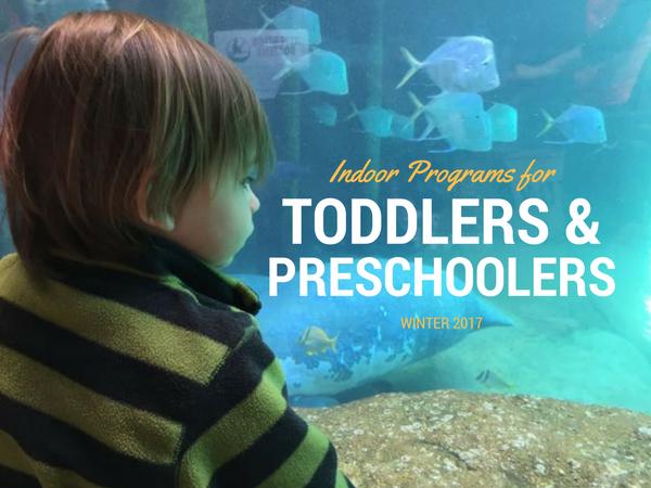 INDOOR PROGRAMS FOR TODDLERS AND PRESCHOOLERS IN COLUMBUS