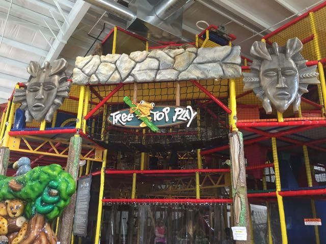 Jungle Junction Tree Top Play Area Bellevue, Ohio