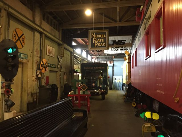 Inside the Mad River and NKP Railroad Museum