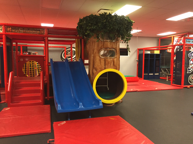 play area at Easterseals of Central Ohio