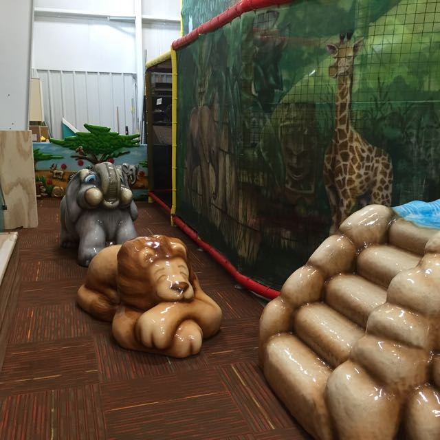 Jungle Junction toddler play area