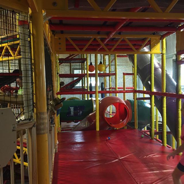 Jungle Junction Play area in Bellevue Ohio
