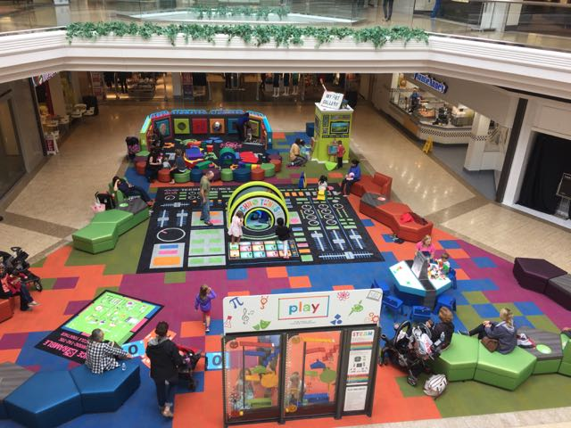 free indoor play area at tuttle mall