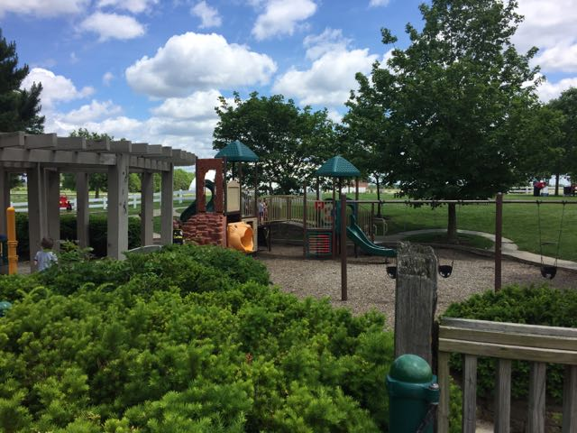 homestead metro park play ground area