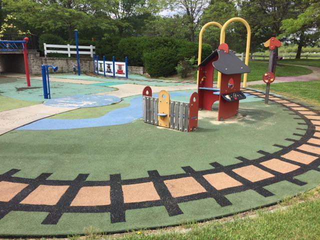 homestead metro park all abilities playground