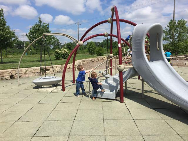 scioto audubon metro park playground