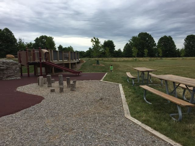 rocky fork metro park playground and picnic area