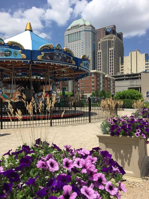 carousel at Columbus Commons, Columbus, Ohio
