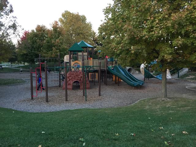 homestead metro park willard ohio playground area