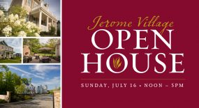 Mark Your Calendar: Jerome Village Community-Wide Open House Event