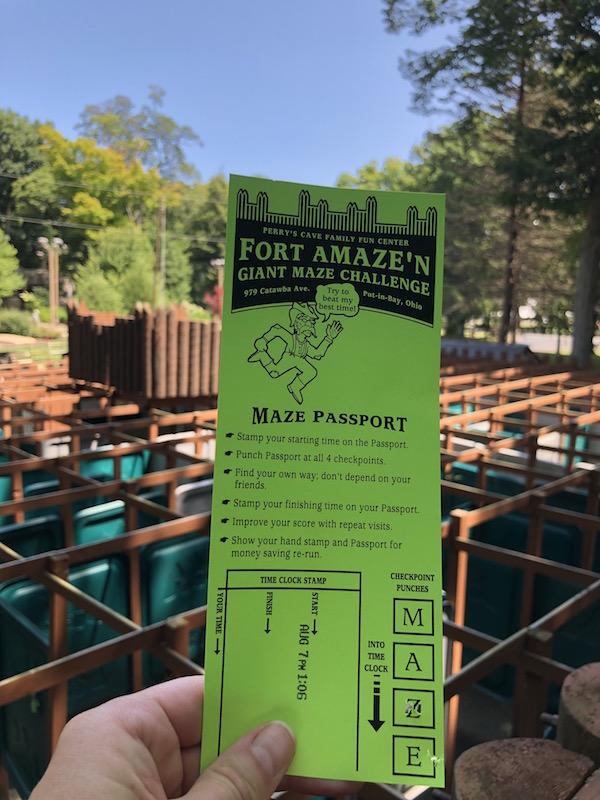 Maze Passport at Fort Amaze'n