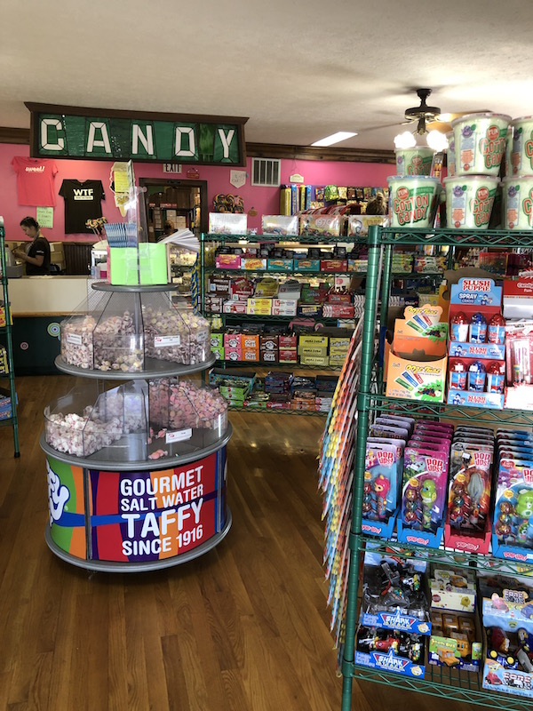 candy for sale in side The Put-in-Bay Candy Bar