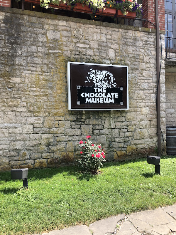 The Chocolate Museum outdoor area