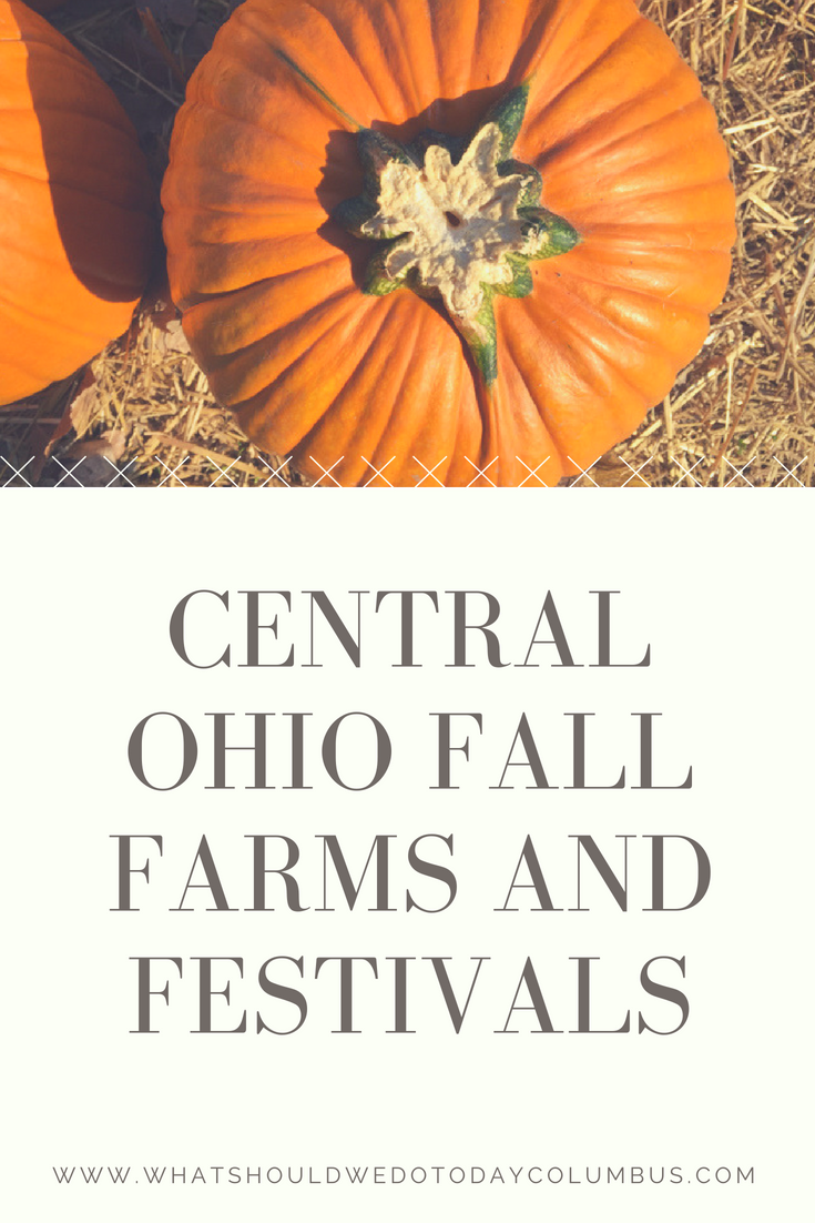 Central Ohio Pumpkin Farms and Fall Festivals