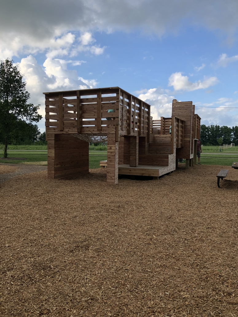 glacier ridge metro park play structure