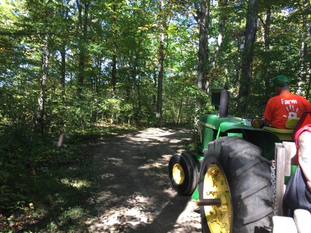 leeds farm hay ride