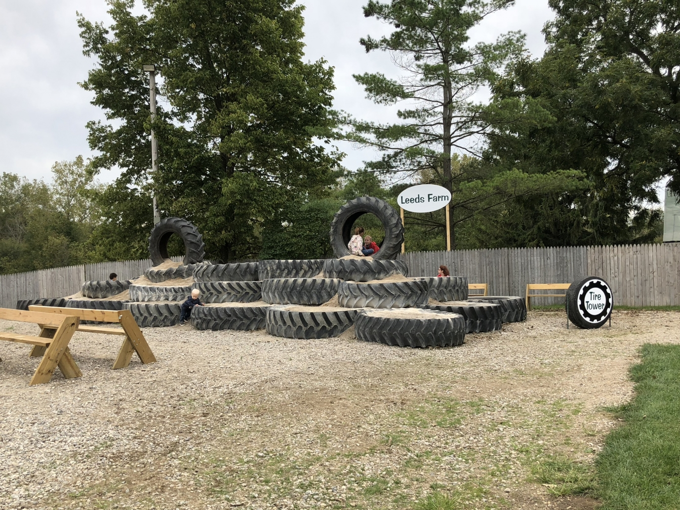 Leeds Farm Tire Tower