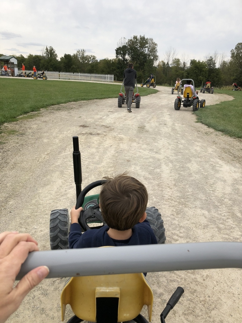 Leeds Farm Pedal Carts