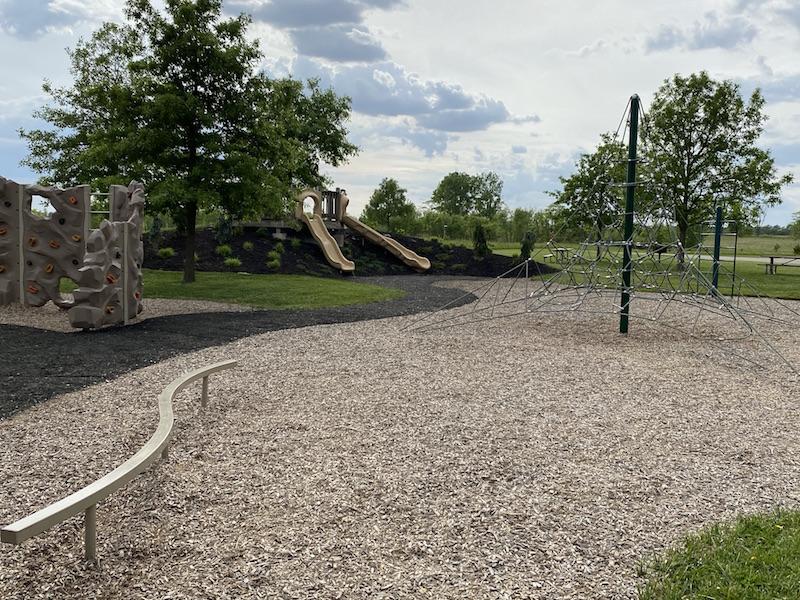 Playground at Prairie Oaks Metro Park.