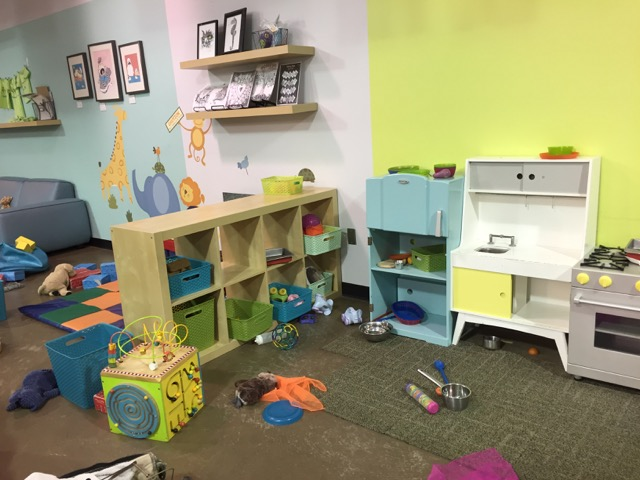 play area at Firefly Play Cafe in Columbus Ohio