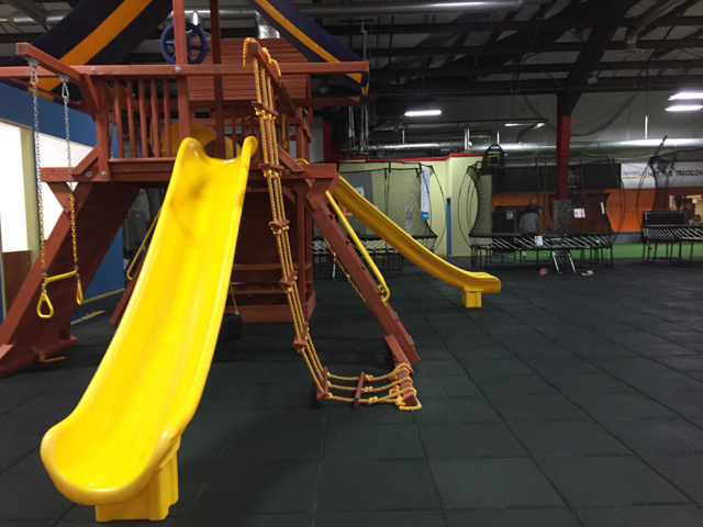Play area at Recreations Outlet