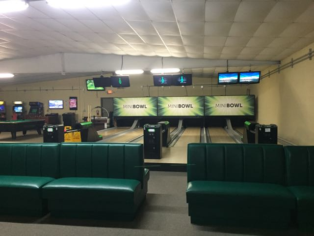 bowling alley at Fun in the Jungle