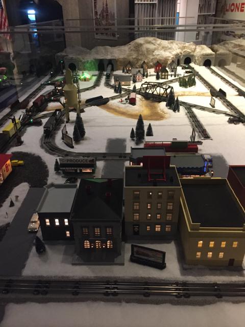 holiday train at Ohio History Center