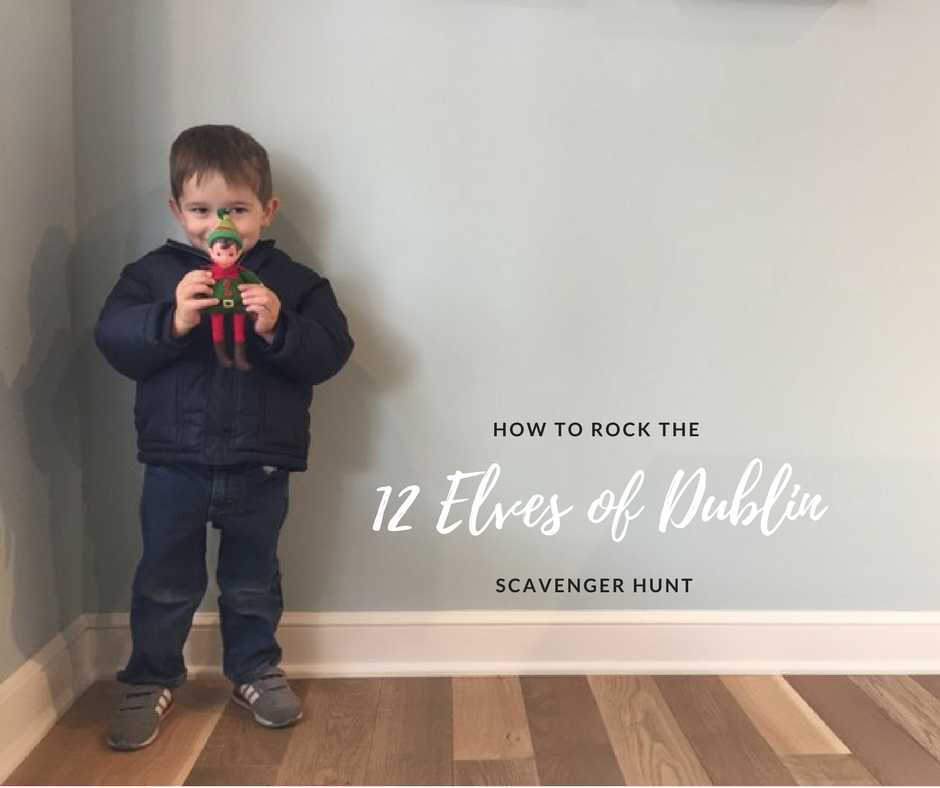 HOW TO ROCK THE 12 ELVES OF DUBLIN SCAVENGER HUNT