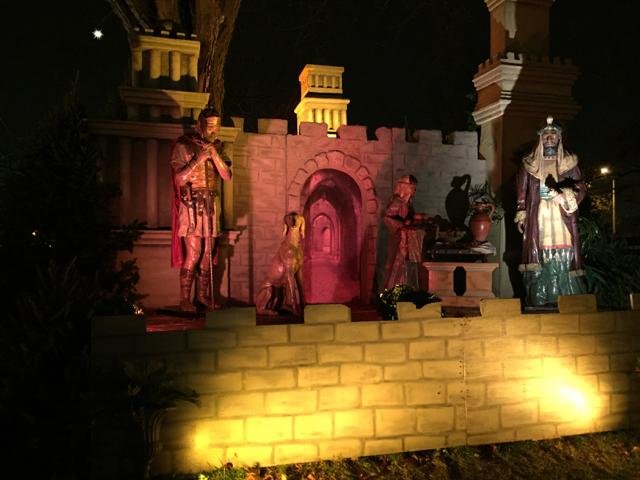 Nativity scene, Bethlehem, State Auto, Columbus, Ohio