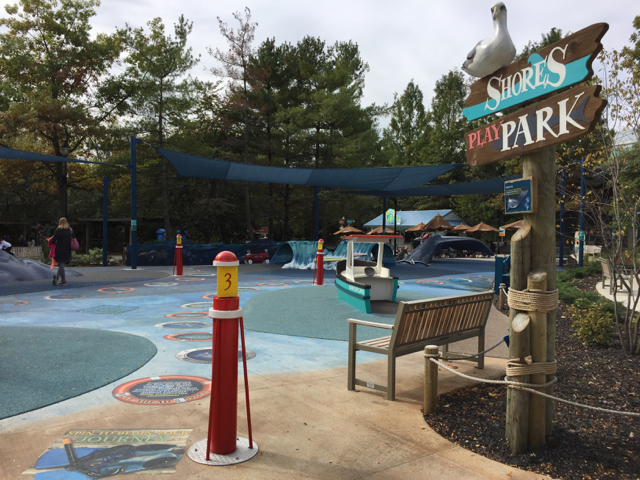 shores play park at Columbus Zoo and Aquarium