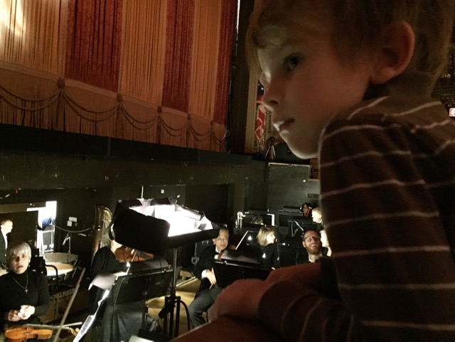 Orchestra Pit at Ohio Theatre, The Nutcracker