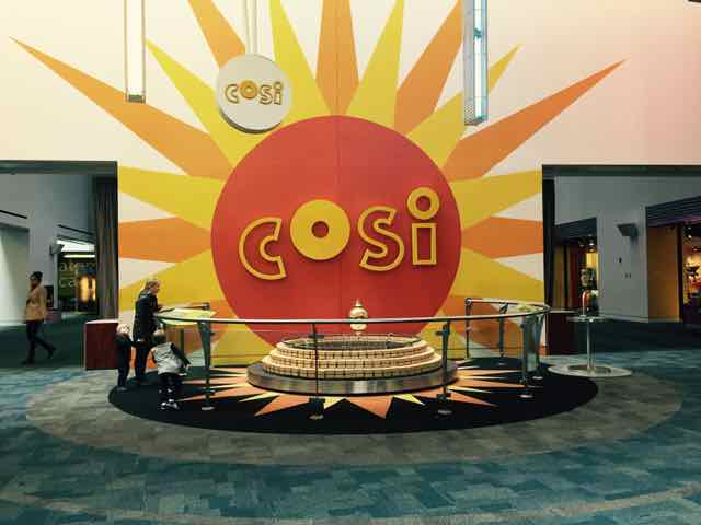 Center of Science and Industry COSI in Columbus, Ohio